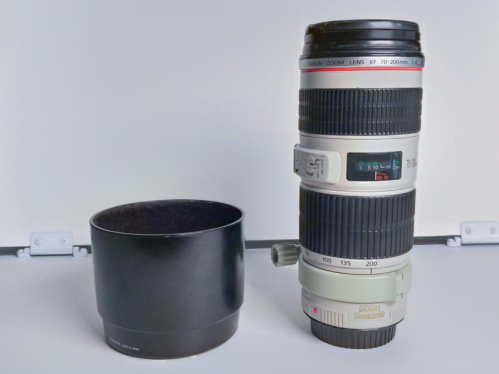 Canon 70-200 mm EF f/4 L IS USM moc. Canon B004