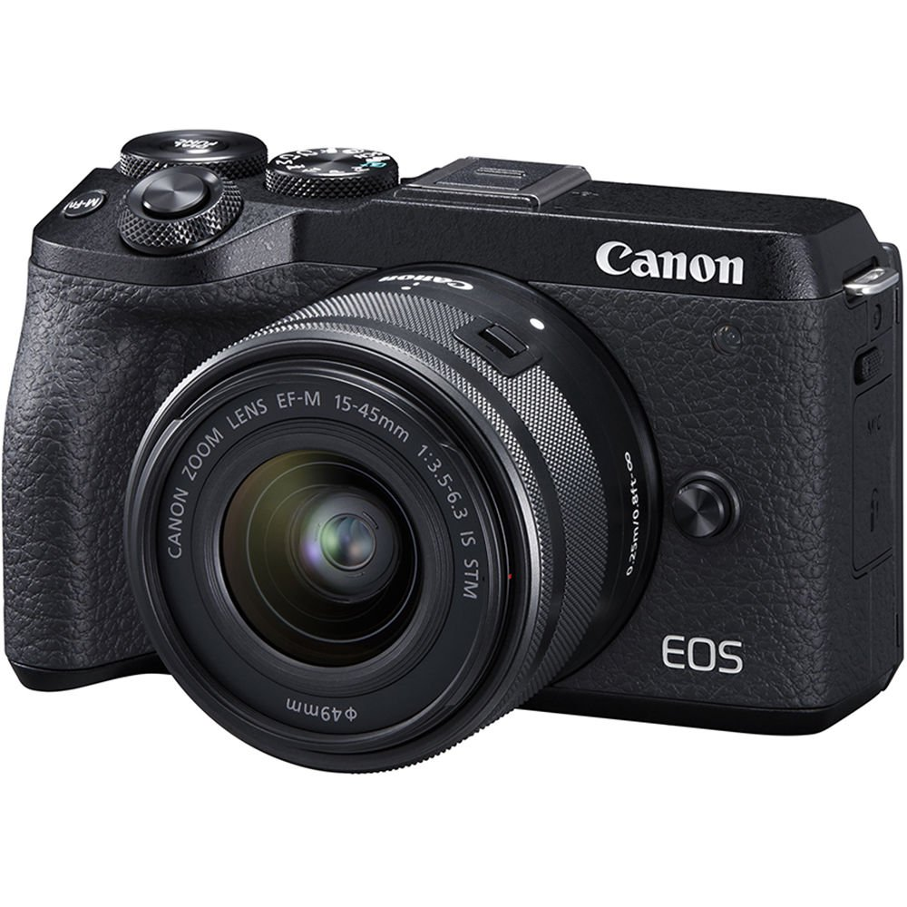 Canon EOS M6 Mark II + EF-M 15-45 IS STM