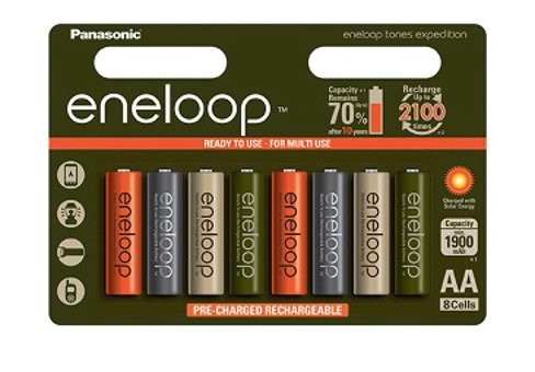 Panasonic akumulatory Eneloop EXPEDITION R6/AA 1900 mAh 8 szt blister