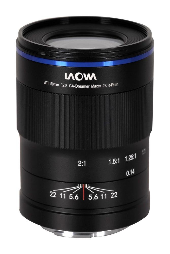 Venus Optics Laowa 50 mm f/2,8 2X Ultra Macro moc. MFT
