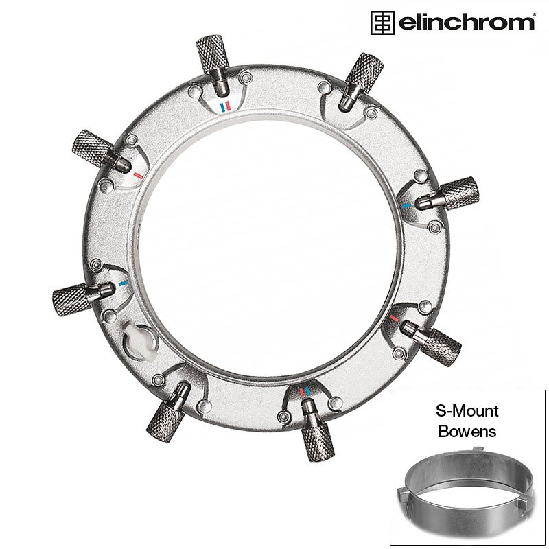 adapter Elinchrom Rotalux na S-mount/Bowens ELI 26541