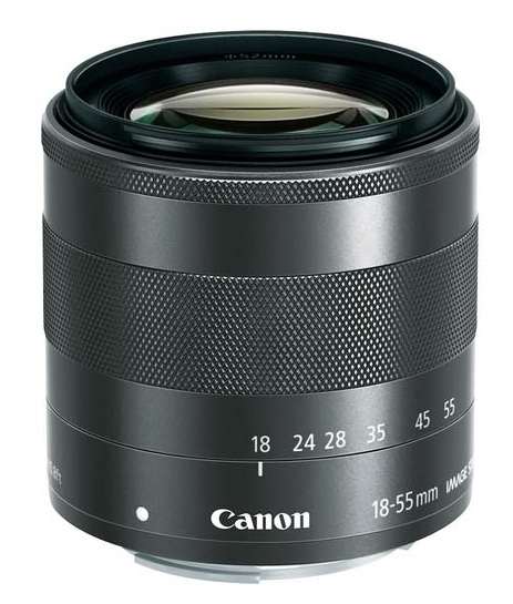 Canon EF-M 18-55 mm f/3,5-5,6 IS STM moc. Canon