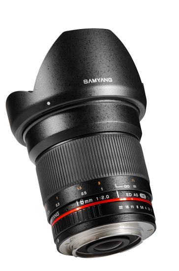 Samyang 16mm f/2.0 IF ED AS UMC CS moc. Pentax