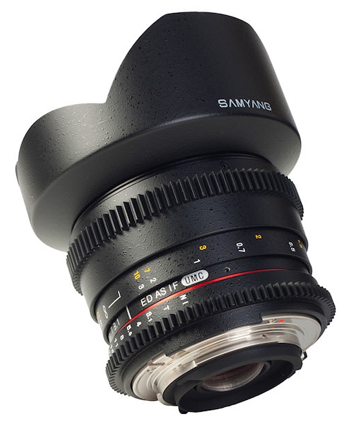 Samyang 14mm T/3.1 IF AS ED UMC VDSLR CS moc. MFT