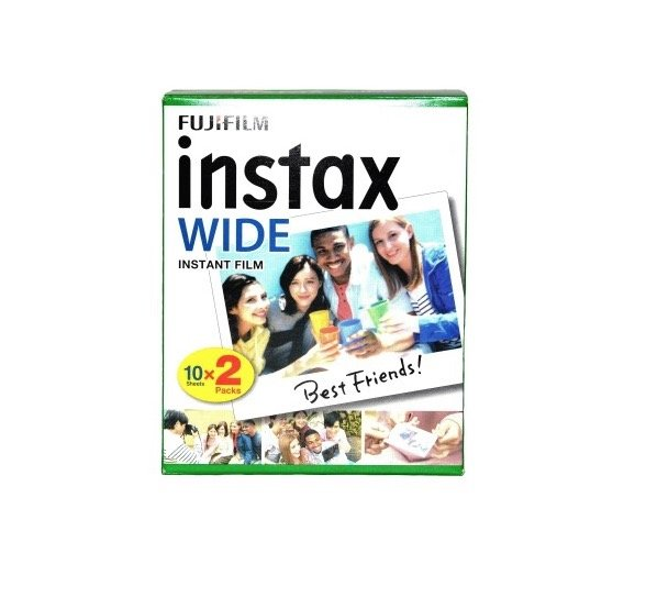 materiał Fuji Instax Wide double pack