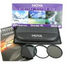 zestaw Hoya Digital Filter Kit UV/CPL/ND8 62mm