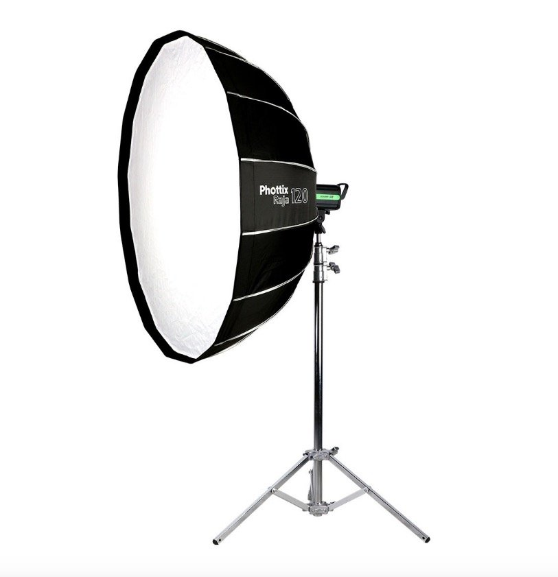 softbox Phottix Raja Quick-Folding Octa Hexa 120cm BOWENS