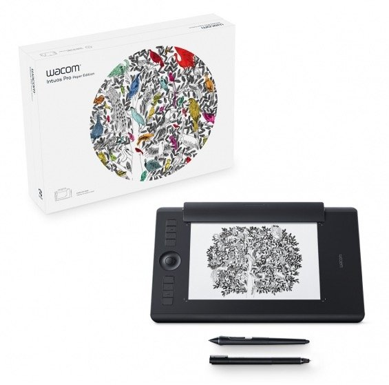 tablet graficzny Wacom Intuos Pro Paper Edition Medium (PTH-660P-N)