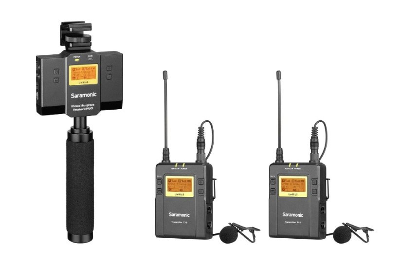 zestaw SARAMONIC UwMic9 KIT 13 (SP-RX9 + TX9 + TX9)